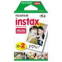富士フイルム チェキ用フィルム(20枚入) インスタントカラーフィルム instax mini INSTAXMINIKR2 [INSTAXMINIKR2]【KK9N0D18P】