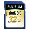 【送料無料】富士フイルム 高速SDHCメモリーカード(Class10対応・32GB) FSDHC-032G-C10 [SDHC032GC10]【KK9N0D18P】