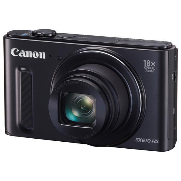 【送料無料】キヤノン デジタルカメラ PowerShot ブラック PSSX610HSBK [PSSX610HSBK]