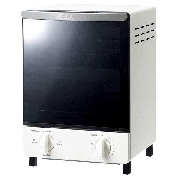 AQUA オーブントースター ホワイト AQT-WT2(W) [AQTWT2W]【RNH】【SPAP】