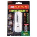 エルパ LEDセンサーライト PM-L100(W) [PML100W]