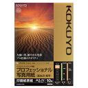 コクヨ IJP用プロフェッショナル写真用紙(高光沢・厚手) A3ノビ 10枚入り KJD10A3B10 [KJD10A3B10]
