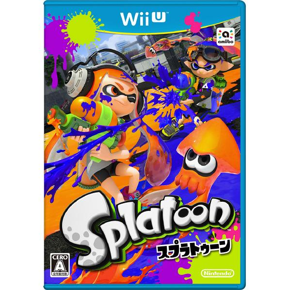 【送料無料】任天堂 Splatoon(スプラトゥーン)【Wii U専用】 WUPPAGMJ [WUPPAGMJ]