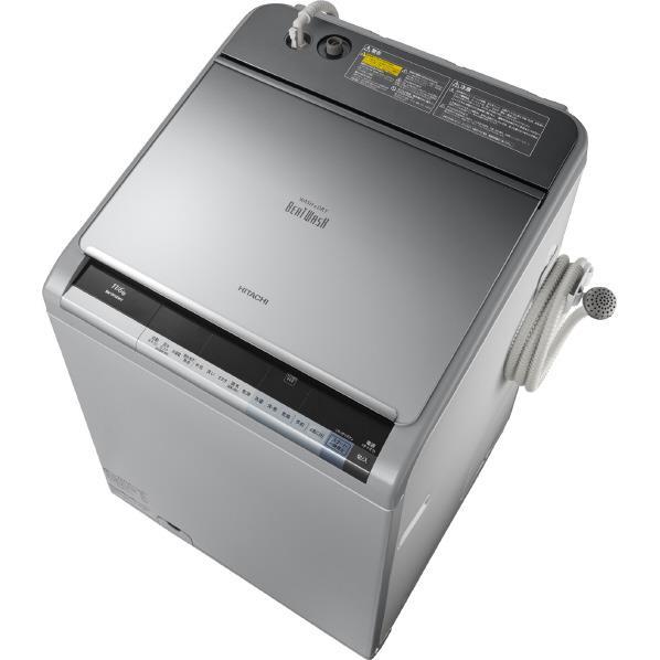 【送料無料】日立 11.0kg洗濯乾燥機 ビートウォッシュ シルバー BW-D11XWV S [BWD11XWVS]【KK9N0D18P】
