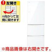 【送料無料】東芝 【左開き】363L 3ドアノンフロン冷蔵庫 クリアシェルホワイト GR-H38SXVL(ZW) [GRH38SXVLZW]【KK9N0D18P】【1201_flash】【10P03Dec16】