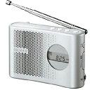 SONY FM/AM PLLシンセサイザーハンディーポータブルラジオ シルバー ICF-M55 S [ICFM55S]【KK9N0D18P】