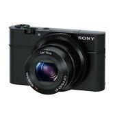 【送料無料】SONY デジタルカメラ Cyber-shot ブラック DSC-RX100 [DSCRX100]