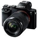 【送料無料】SONY デジタル一眼カメラ・標準ズームレンズキット α7 ILCE-7K B [ILCE7KB]