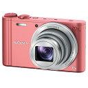 SONY デジタルカメラ Cyber-shot ピンク DSC-WX350 P