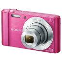 【送料無料】SONY デジタルカメラ Cyber-shot ピンク DSC-W810 P [DSCW810P]