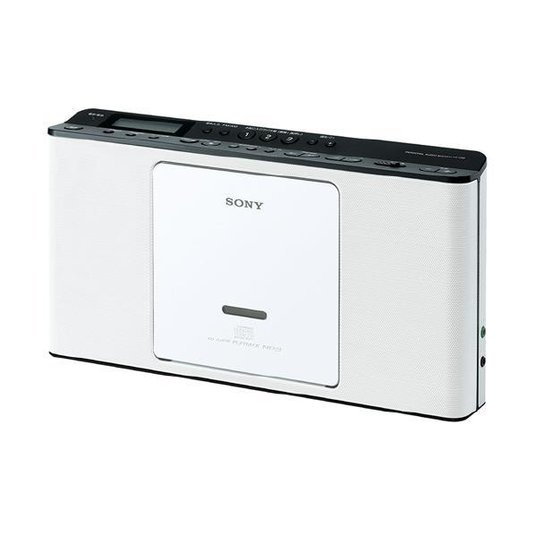 【送料無料】SONY CDラジオ ホワイト ZS-E80 W [ZSE80W]【KK9N0D18P】