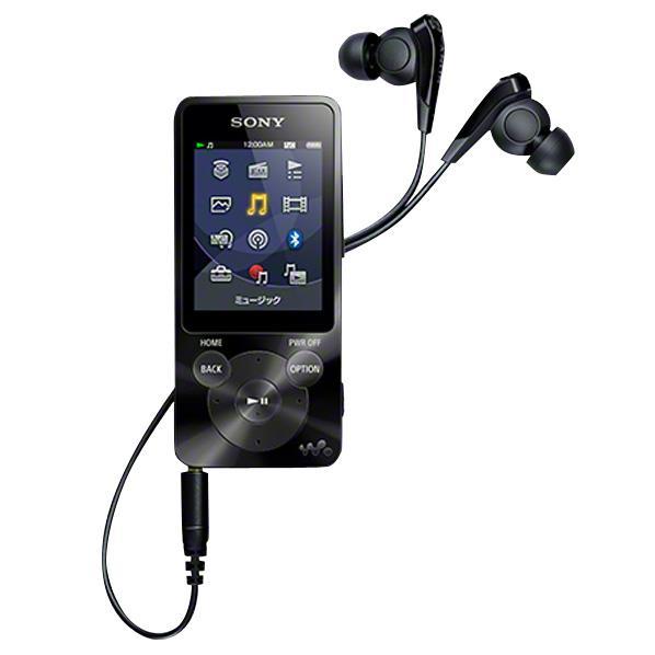 【送料無料】SONY デジタルオーディオプレーヤー(8GB) ウォークマン ブラック NW…...:edion:10190961