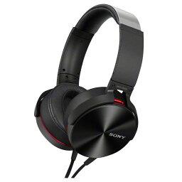 【送料無料】SONY 密閉ヘッドバンド型ヘッドフォン ブラック MDR-XB950 B [MDRXB950B]【KK9N0D18P】