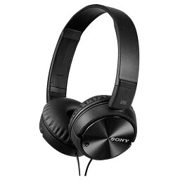 SONY 密閉ヘッドバンド型ヘッドフォン ブラック MDRZX110NC [MDRZX110NC]【KK9N0D18P】
