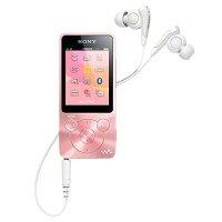 SONYデジタルオーディオプレーヤー(8GB)ライトピンクNW-S14