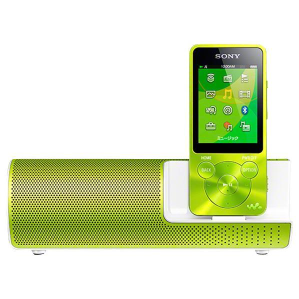 【送料無料】SONY デジタルオーディオプレーヤー(8GB) ウォークマン グリーン NW-S14K G [NWS14KG]【KK9N0D18P】【KP10】