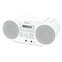 SONYCDラジオホワイトZS-S40