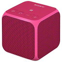 【送料無料】SONY ワイヤレスポータブルスピーカー ピンク SRS-X11 P [SRSX11P]【KK9N0D18P】【1201_flash】【10P03Dec16】