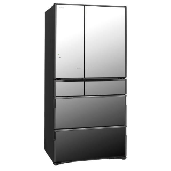 【送料無料】日立 730L 6ドアノンフロン冷蔵庫 真空チルド クリスタルミラー R-X7300F-X [RX7300FX]【KK9N0D18P】