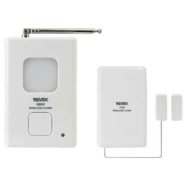 REVEX ドア窓チャイムセット ワイヤレスチャイム Xシリーズ X830 [X830]