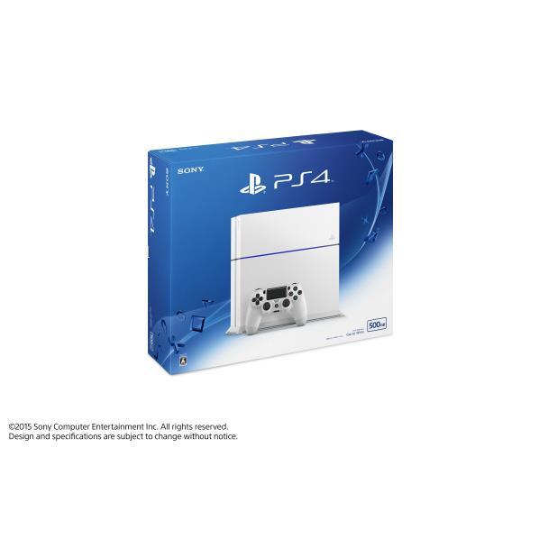 【送料無料】SCE PlayStation 4 グレイシャー・ホワイト CUH1200AB02 [CUH1200AB02]