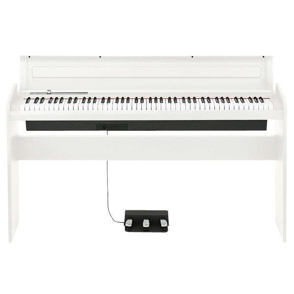 【送料無料】【標準設置が今なら1円!】コルグ 電子ピアノ 白 LP-180-WH [LP180WH]【KK9N0D18P】