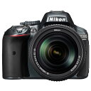 【送料無料】ニコン デジタル一眼レフカメラ・標準ズームレンズキット D5300 グレー D5300LK18140VRGY [D5300LK18140VRGY]