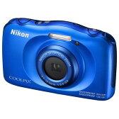 【送料無料】ニコン デジタルカメラ COOLPIX ブルー COOLPIXS33BL [COOLPIXS33BL]【ANSN】