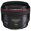 【送料無料】キヤノン 標準単焦点レンズ EF50mm F1.2L USM EF5012LU [EF5012LU]【KK9N0D18P】