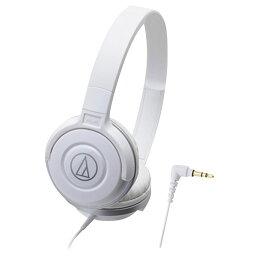オーディオテクニカ 密閉ヘッドバンド型ヘッドフォン ホワイト ATH-S100WH [ATHS100WH]