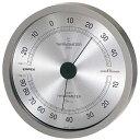 エンペックス スーパーEX高品質温湿度計 メタリックグレー EX-2727 [EX2727]