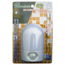 オーム電機 LEDセンサーライト OSC-10T [OSC10]