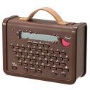 キングジム マスキングテーププリンター こはる ブラウン MP10BR [MP10BR]【KK9N0D18P】【1201_flash】【10P03Dec16】