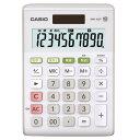 カシオ 電卓 ホワイト MW-100T-WE-N [MW10...