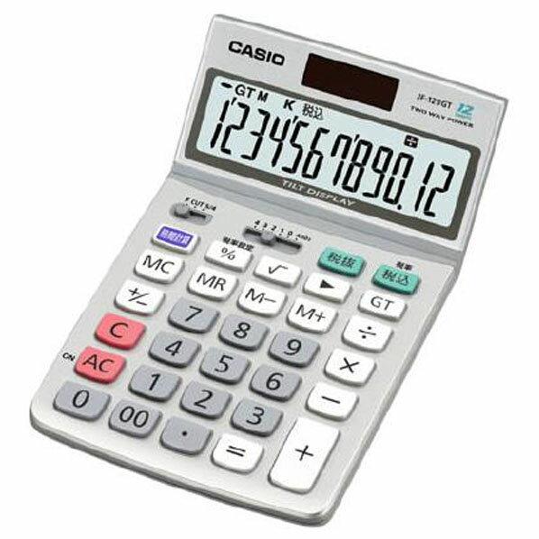 カシオ 特大表示電卓 12桁 マルチ換算タイプ JF-120GTN【KK9N0D18P】