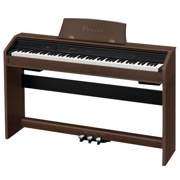 【送料無料】【標準設置が今なら1円!】カシオ 電子ピアノ Privia オークウッド調 PX-760BN [PX760BN]【KK9N0D18P】