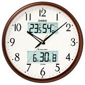 【送料無料】カシオ 電波掛け時計 メタリックブラウン ITM-650J-5JF [ITM650J5JF]