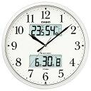 【送料無料】カシオ 電波掛時計 パールシルバー ITM-660NJ-8JF [ITM660NJ8JF]