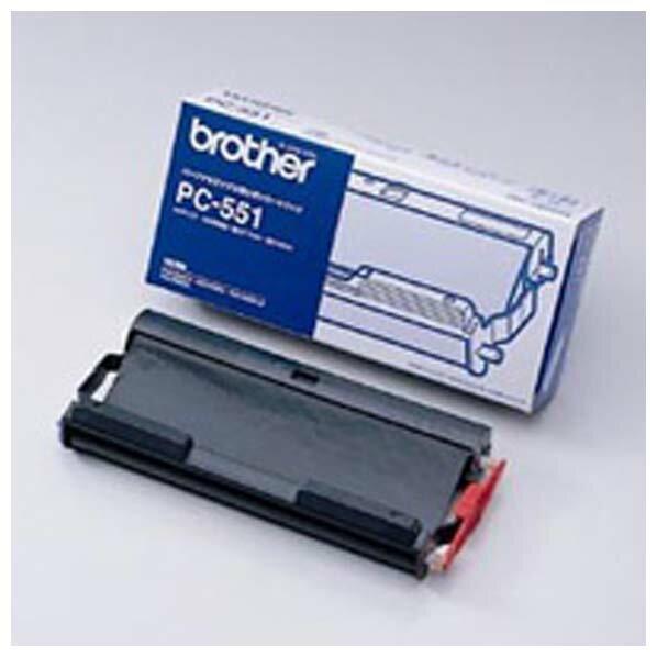 ブラザー 普通紙FAX用リボンカートリッジ PC-551 [PC551]