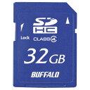 BUFFALO SDHCメモリーカード(Class4・32GB) ESDC4-32G [ESDC432G]【KK9N0D18P】【NYOA】