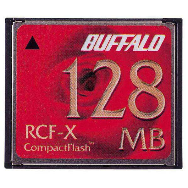バッファロー コンパクトフラッシュ RCF-X128MY [RCFX128MY]