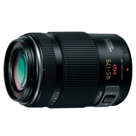 【送料無料】パナソニック レンズ LUMIX G X VARIO PZ 45-175mm/F4.0-5.6 ASPH./ POWER O.I.S. ブラック H-PS45175-K [HPS45175K]