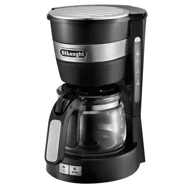 デロンギ ドリップコーヒーメーカー ブラック ICM14011J [ICM14011J]【RNH】