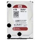 【送料無料】WESTERN 内蔵型 4TB HDドライブ WD Red WD40EFRX [WD40EFRXC]【1021_flash】
