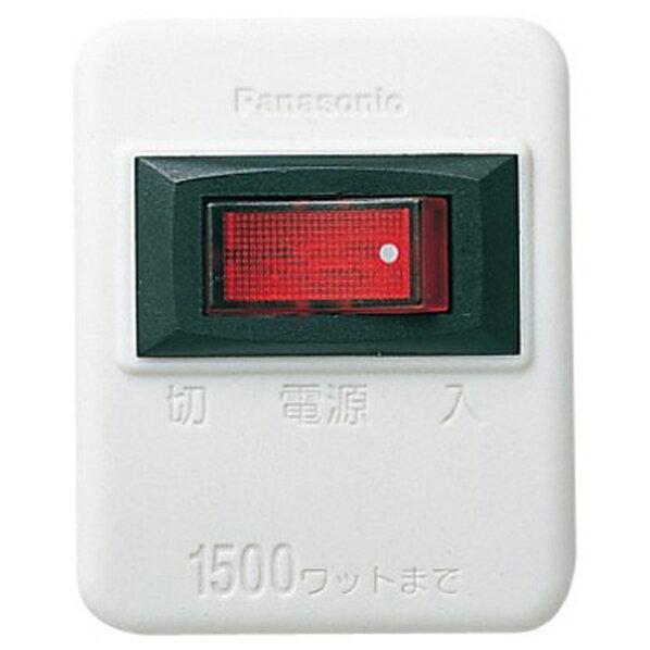 パナソニック タップ ホワイト WHS2001W...の商品画像