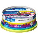 Verbatim データ用DVD+R DL 8.5GB 2.4-8倍速 インクジェットプリンタ対応 スピンドルケース 25枚入り DTR85HP25V1 [DTR85HP25V1]