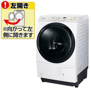【送料無料】パナソニック 【左開き】9.0kgドラム式洗濯乾燥機 クリスタルホワイト NA-VX3600L-W [NAVX3600LW]【KK9N0D18P】