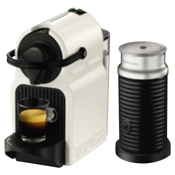 【送料無料】ネスプレッソ コーヒーメーカー バンドルセット イニッシア ホワイト C40WHA3B [C40WHA3B]
