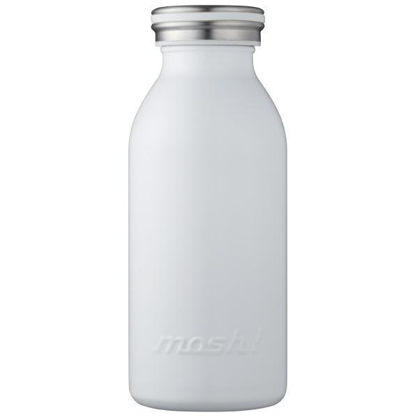 ドウシシャ ステンレスボトル(350ml) mosh! ホワイト DMMB350WH [DMMB350WH]
