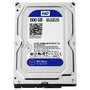 【送料無料】WESTERN デスクトップ用3.5インチ型ハードディスクドライブ(500GB) WD Blue WD5000AZRZ-RT [WD5000AZRZRTC]